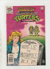 Teenage Mutant Ninja Turtle Adventures #55 - Tombstone Cover - (Grade 4.0) 1994