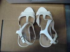 "NINE & CO. JJINDIGO STILETTO'S WHITE 5""HEEL DRESS OR CASUAL SHOES"