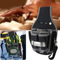 ITS- KQ_ Electrical Tool Pocket Bag Waist Belt Electrician Pouch Screwdriver Hol