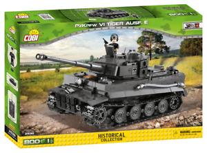 Panzerkampfwagen VI Tiger Ausf. E.- COBI 2538 - 800 brick tank