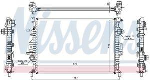 Radiator Front Nissens 65615A
