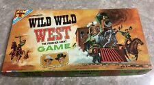 1966 Transogram Wild Wild West Frontier Agent Board Game 100% Complete CBS TV Ex