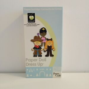 CRICUT cartridge 'Paper Doll Dress Up' and keyboard Link status unknown Preowned