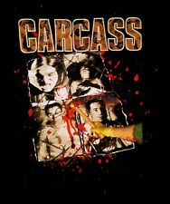 CARCASS cd lgo NECROTICISM Descanting the Insalubrious Official 2-Sided SHIRT LG