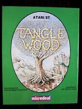 Rare! Vintage Tanglewood Computer Game (Atari St, 1987) Microdeal (Very Good)