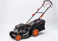 "Self Propelled 21"" Petrol Lawn Mower Cut Collect Mulch 4 Stroke 200cc OHV Engine"