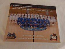 UCLA Bruins Basketball NCAA Tournament 2008 Media Guide! ONLY ONE ON eBAY! NEW!