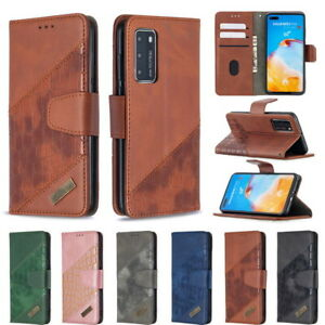 For Huawei P50/40/30 Pro P smart Y5/6/7P Flip Stand Wallet Leather Phone Case