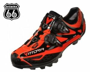 Vittoria MTB Shoe - IKON  MTB (Orange, Size 38)