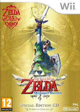 The Legend of Zelda Skyward Sword 25th Anniversary Limited Edition With Special