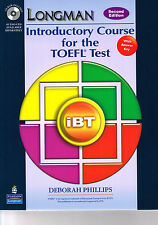 Longman INTRODUCTORY COURSE for TOEFL Test iBT w Answer Key 2nd Ed +CD-ROM @New@