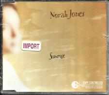 NORAH JONES Sunrise w/ UNRELEASED TRK Moon Song CANADA CD single SEALED 2004