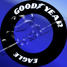 [FFSMC Productions] 1/20  Decals Goodyear Eagle (White) x 36