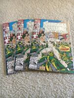 SILVER SABLE & THE WILD PACK, Vol.1, #1 NM Embossed Foil Cover  UNREAD LOT OF 3