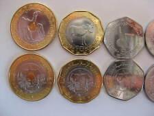 MAURETANIA Mauretanien set of 6 coins UNC #G with new 2 coin
