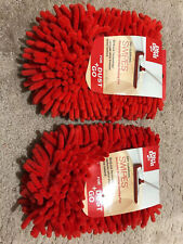 (2) Dirt Devil Swipes #Ad51010 Washable Microfiber Dusting Pads (For Dust+Go)