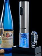 Secura Stainless Steel Electric Wine Opener Corkscrew Bottle Opener with Foil Cu