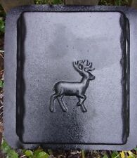 """Plastic deer bench leg 1 mold for small bench top molds 12"""" x 11"""" x 2.25"""""""