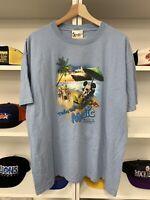 Vintage 2006 Mickey Mouse Cruise Shirt Sz XL Walt Disney Magic World