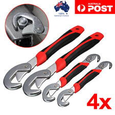 Snap N Grip Universal Quick Wrench and Spanner Adjustable Multi Function 2 Set