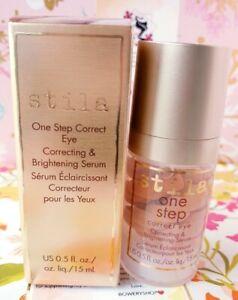 Stila One Step Correct Eye Correcting & Brightening Serum 0.5oz / 15ml NEW