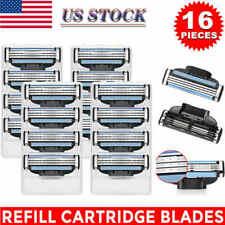 Male Men Razor Blades for Gillette MACH 3 Shaver Trimmer Cartridges Refill 16Pcs