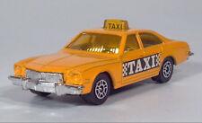 Corgi Juniors Buick Regal Yellow Taxi Cab Toy Car Scale Model 1975 1976 1977