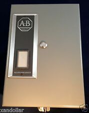 Relay Overload Allen Bradley 592-BAV16 NIB Enclosure W/ Allen Bradley 592-B0V16