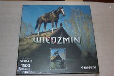 WITCHER PUZZLE PLOTHER NEW COLLECTION SERIES 2 NEW SEALED