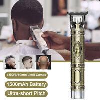 Professional Cordless Hair Clipper Trimmer Shaving Machine&Cutting Beard Barber
