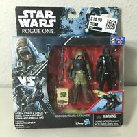Disney Hasbro Star Wars Rogue One Imperial Death Trooper & Rebel Commando Pao