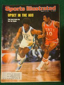 Sports Illustrated March 17 1975 Phil Ford North Carolina Tar Heels