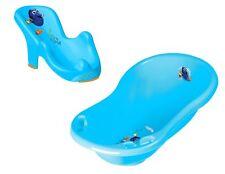 Baby Badewanne mit Stöpsel 84 cm + Badewannensitz Disney Findet Dorie Babywanne