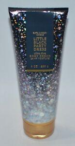1 BATH & BODY WORKS LITTLE BLACK PARTY DRESS ULTRA SHEA CREAM HAND LOTION 8 OZ