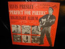 """ELVIS PRESLEY & VARIOUS perfect for parties ( rock ) 7""""/45 picture sleeve PROMO"""