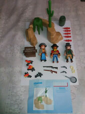 PLAYMOBIL WESTERN 5250 AVEC NOTICE INCOMPLET
