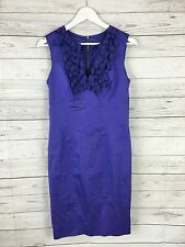 Women's Ted Baker Party Dress - Size 2 UK10 - Purple - Great Condition