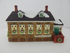 Dept 56 New England Village Stoney Brook Town Hall #56448 Good Condition 2