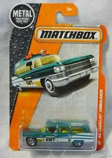 1963 Cadillac Ambulance 1:81 Scale Diecast by Matchbox MBX Heroic Rescue Series