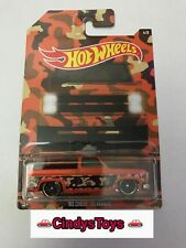 Hot Wheels Walmart Exclusive 2017 Camouflage Camo Series - '83 Chevy Silverado