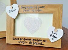 Personalised Bridesmaid Maid Honour Photo Frame Wedding Gift Sister / Friend
