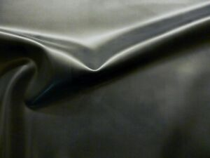 Latex Rubber 0.55mm Thick, 92cm Wide, Black, Slight Seconds