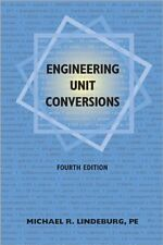 Engineering Unit Conversions by Michael  R. Lindeburg PE, (Paperback), Professio