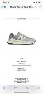 New Balance 57/40 M5740TA White Gray Grey NB Sneakers Classic Shoes Size 13
