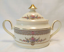Minton England Fine Bone China PERSIAN ROSE Sugar Bowl with Lid