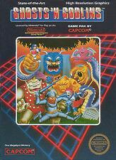 Ghosts N Goblins NINTENDO NES Video Game