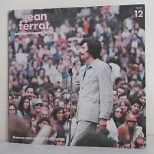"""33 tours Jean FERRAT Vinyl LP 12"""" ENREGISTREMENT 1979 - Disque TEMEY 598 508"""