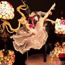 Crystal Sailor Moon Chiba Mamoru PVC Figure Dancing ver. New inbox Toy Figurine