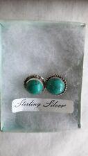 925 Silver Turquoise Stud Earrings