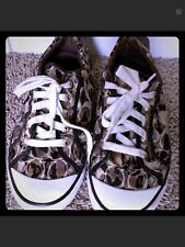 COACH BARRETT Camo Lace Up Size 9 Low Sneakers Shoes